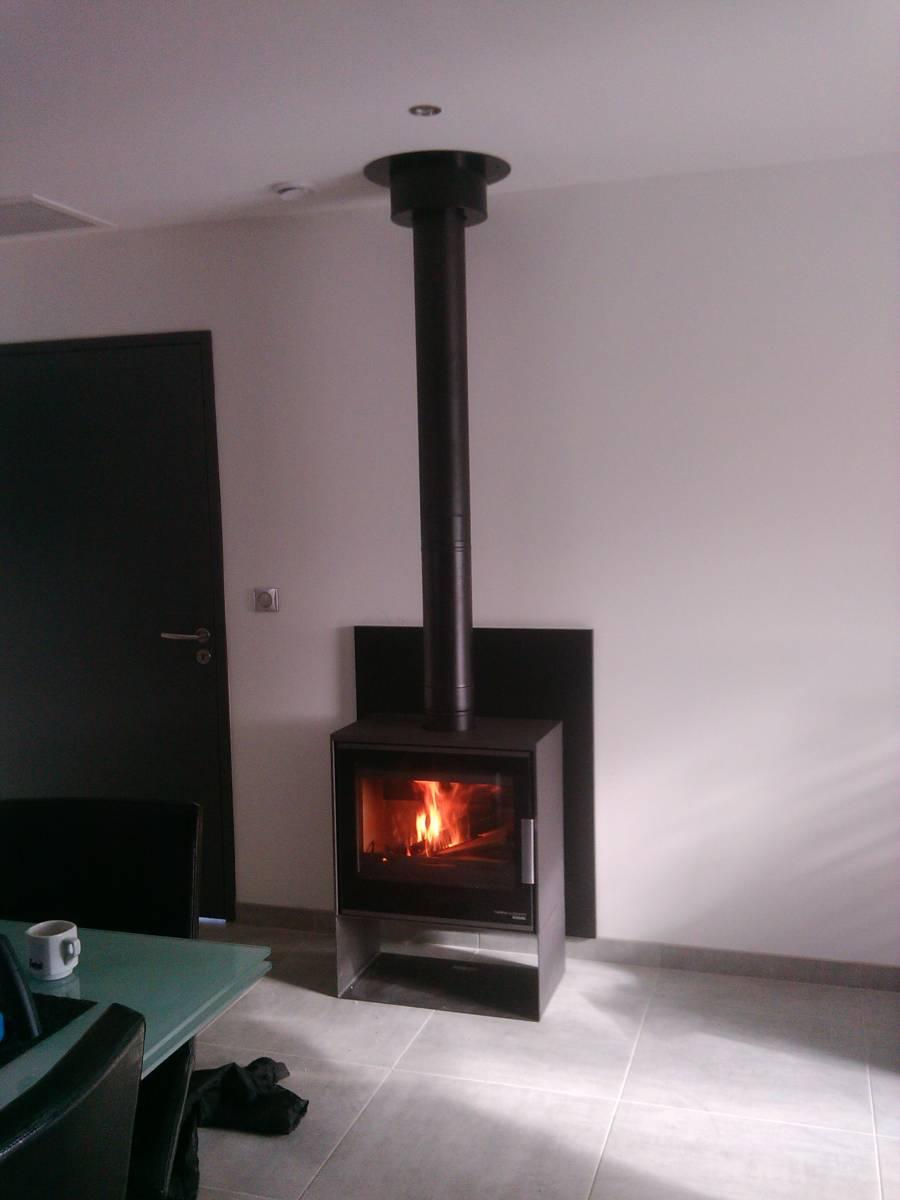 Po u00ealeà bois b u00fbche de 50 cm Montpellier Magasin de po u00eales et cheminées Montpellier Dimension  # Poele A Bois Grande Buche