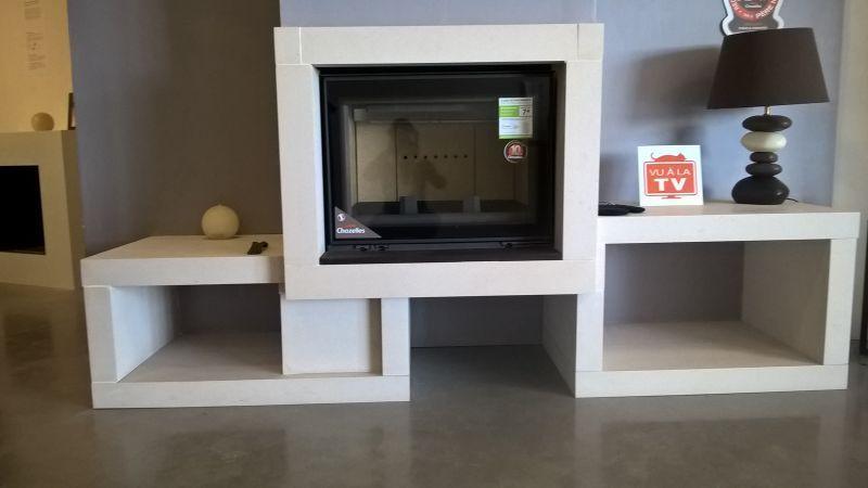 d stockage chemin e po le granul s et po le bois. Black Bedroom Furniture Sets. Home Design Ideas